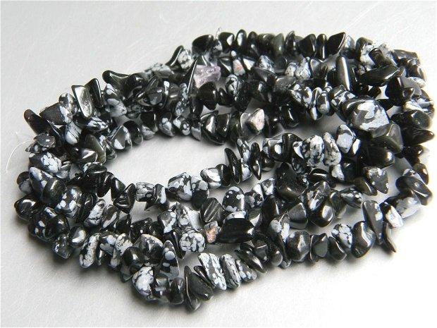 Snowflake obsidian chipsuri