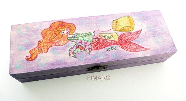 Mermaid Tea - cutie pt.bijuterii