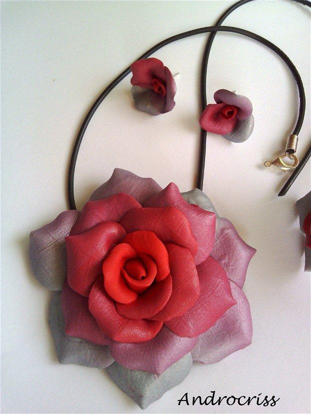 Roses-set bijuterii