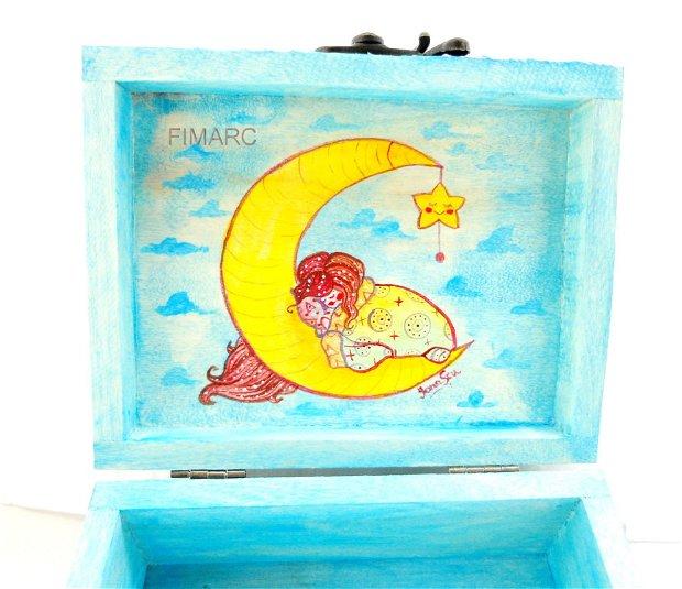 ''Calatorie in lumea viselor'' - cutie pt.bijuterii