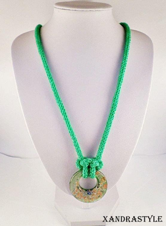 Colier verde (knit)