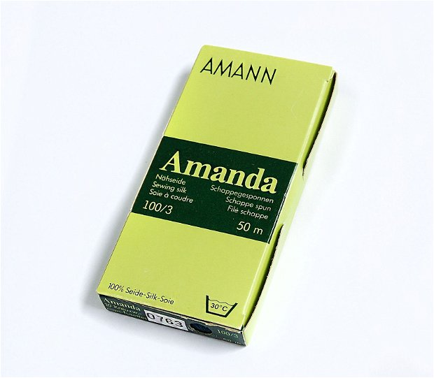 Set Matase naturala  (10 buc x 50 m) - Amanda de la AMANN