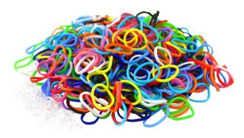 100 elastice loom bands