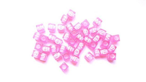 LMA600 - litere roz