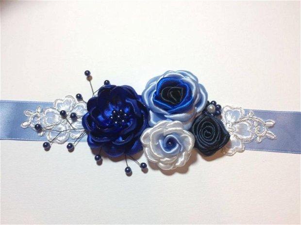 Brau / bentita albastru