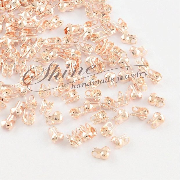 Capat colier rose gold