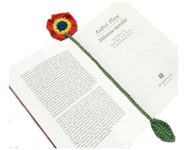 Semn de carte floare