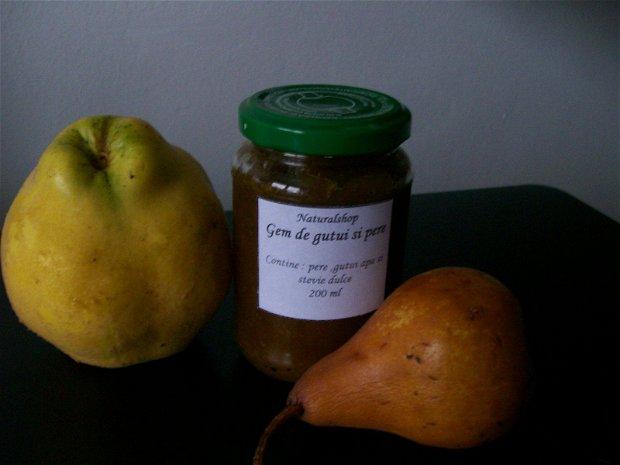 Gem de gutui si pere cu stevie dulce