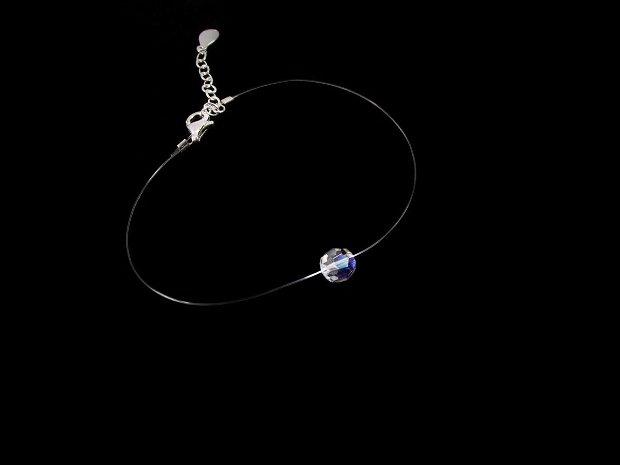 Set choker si bratara cristal Swarovski - argint