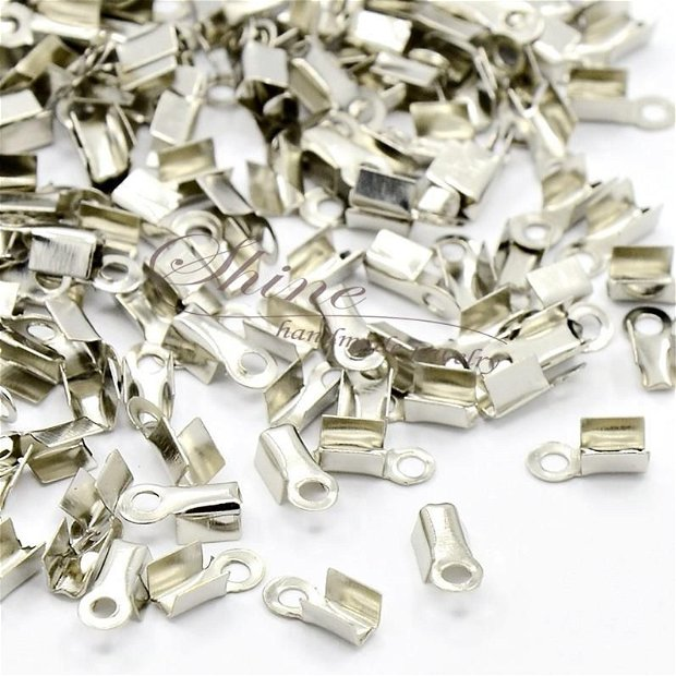 Capat snur platinum, 9x3.5x4mm