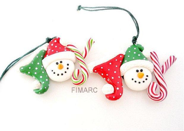 ''Bucuria Sarbatorilor de Iarna''- decoratiune/magnet