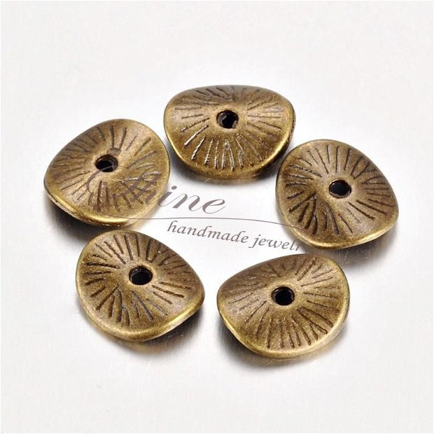 Distantier disc, bronz antichizat