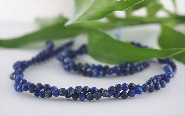 Lapis lazuli fatetat, 3mm (1)