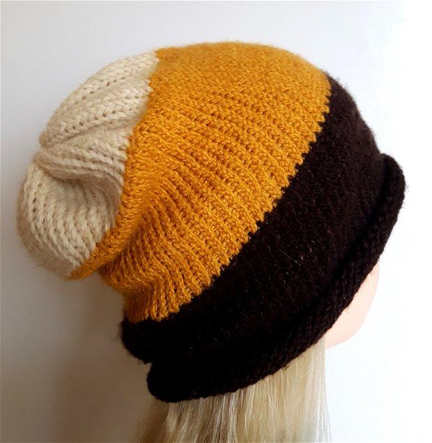 Caciula tricotata manual, Caciula unisex