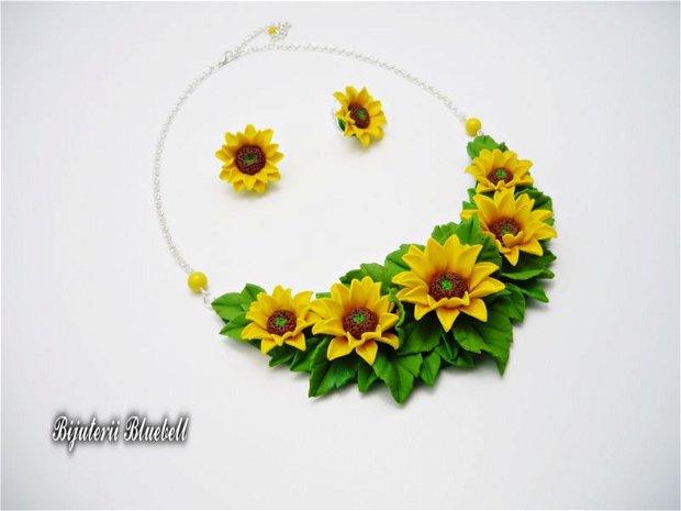 Camp cu floarea-soarelui