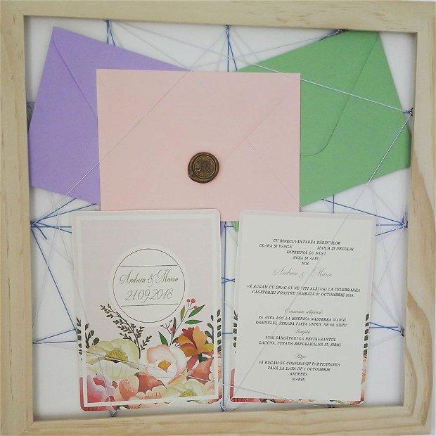Invitatie roz