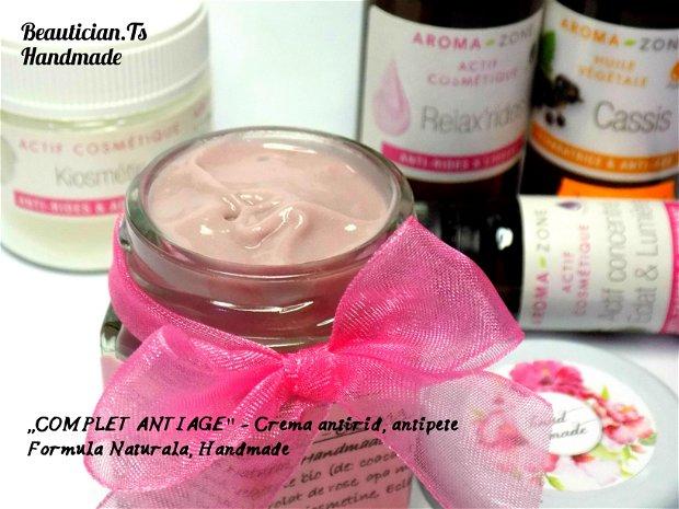 ,,COMPLET ANTIAGE'' - Crema ptr ten imbatranit (antirid, antipete)