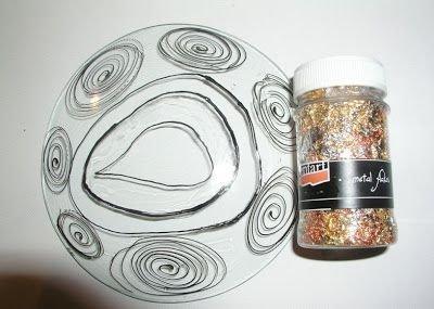 Fulgi de foita metalica M11-1g-auriu+multicolor- PP2961