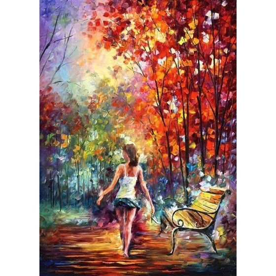 Panza pictura pe  sasiu-24x30