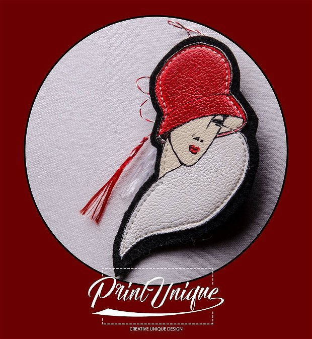 "Martisor  ""Red Hat Lady"""