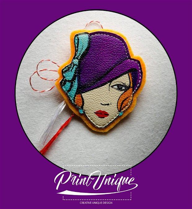 """Martisor """"Purple Hat"""""""