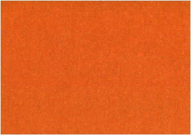 Fetru din lana 50x140cm- portocaliu