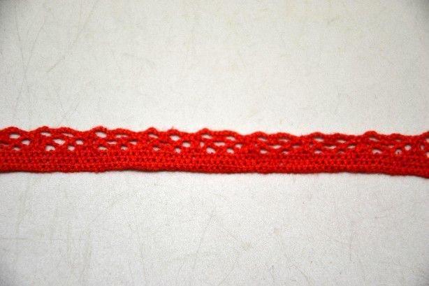 Dantela rosie  1 cm latime- pret/1m -371802