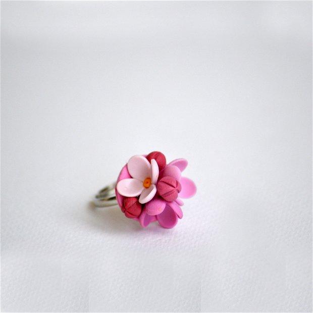 Inel liliac roz