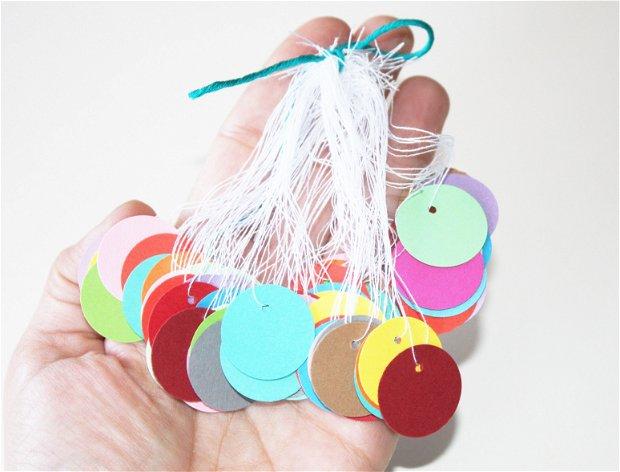 Price tags. Etichete multicolore. Etichete rotunde. Etichete produs