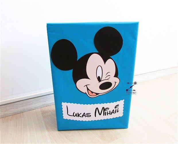 Cutie dar botez Mickey Mouse, cutie bani Mickey, botez Mickey Mouse