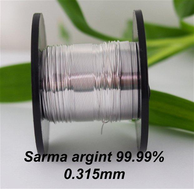 Sarma argint 99.99%, grosime 0.315mm (1)