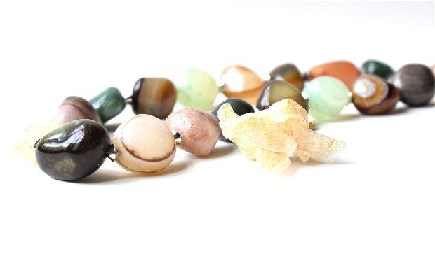 Colier mix pietre naturale