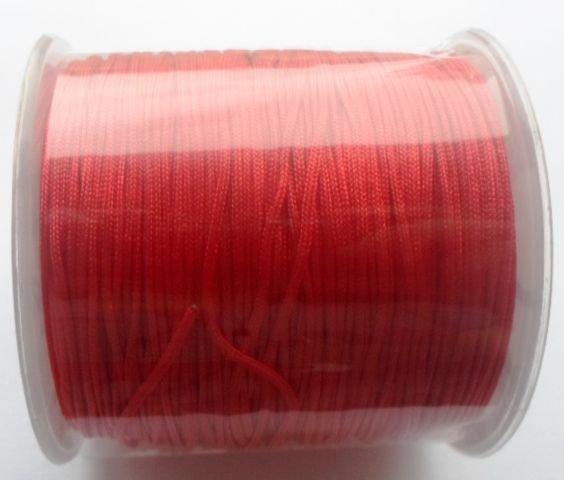 Snur nylon rosu 1 mm