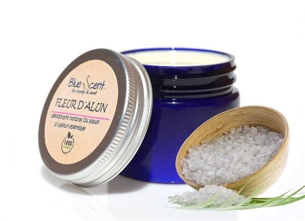 Fleur d`Alun-deodorant natural crema,cu alaun-BlueScent