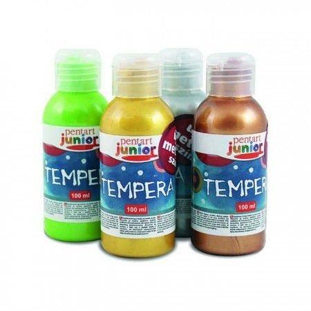 Vopsea Tempera junior metalizata 100 ml