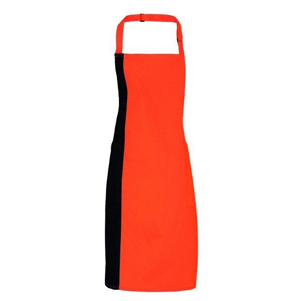 Sort unisex - portocaliu cu negru - 72 x 86