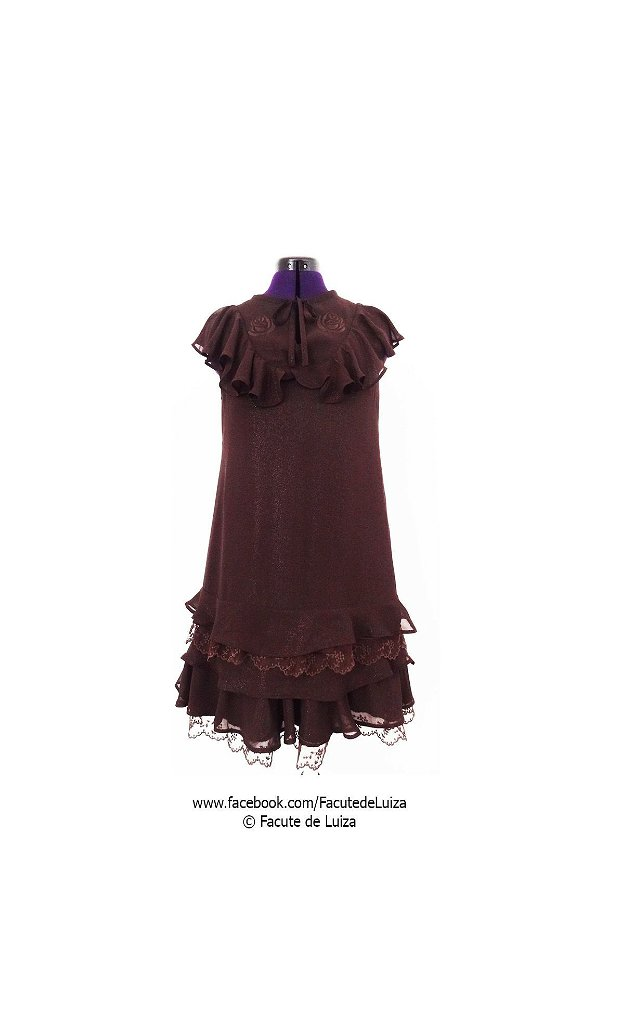 Dark Chocolate Dress