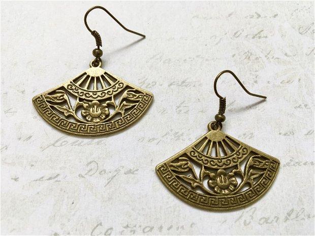 cercei medievali bronz