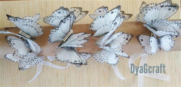 Bratari cu fluturi domnisoare de onoare