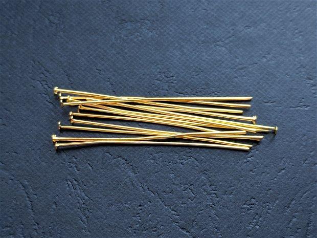 LA21 - (50 buc) ace aurii cu cap 50 mm
