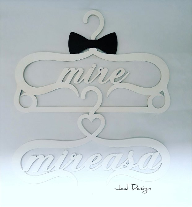 Umerase din lemn decorative pentru nunta