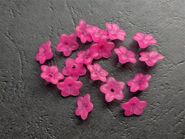LMA904 - flori acrilice fucsia