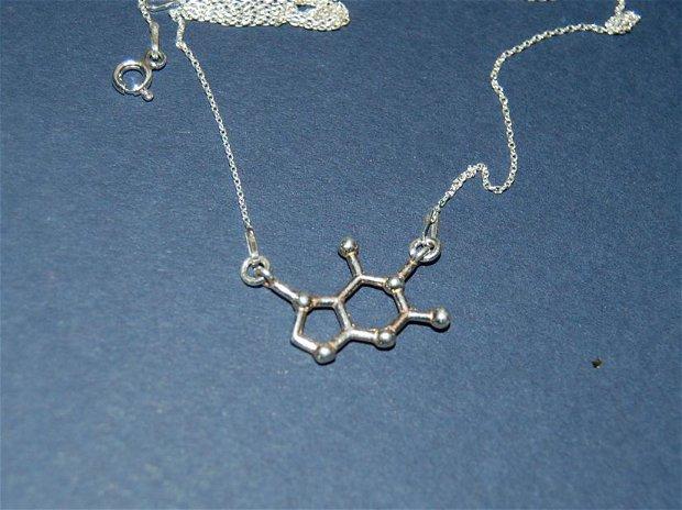 Colier argint925 ciocolata formula chimica