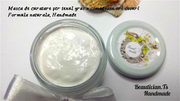 Masca de curatare - ptr. tenul gras, foarte gras, cu comedoane sau cosuri (50ml)