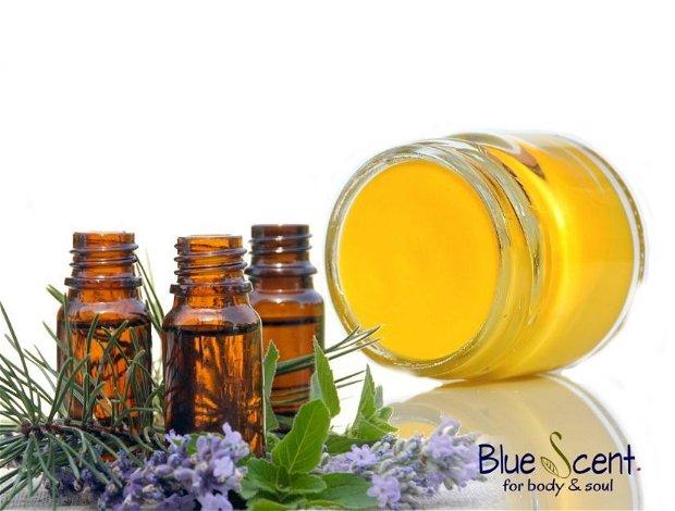 Natural VapoRub-balsam decongestionant,expectorant,adjuvat in raceala si gripa-BlueScent