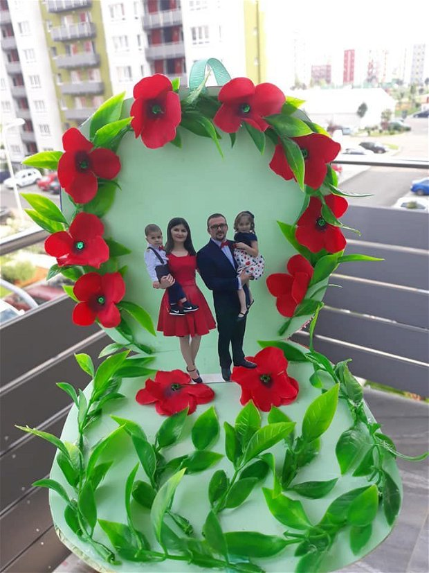 Felicitari 3D - model floral