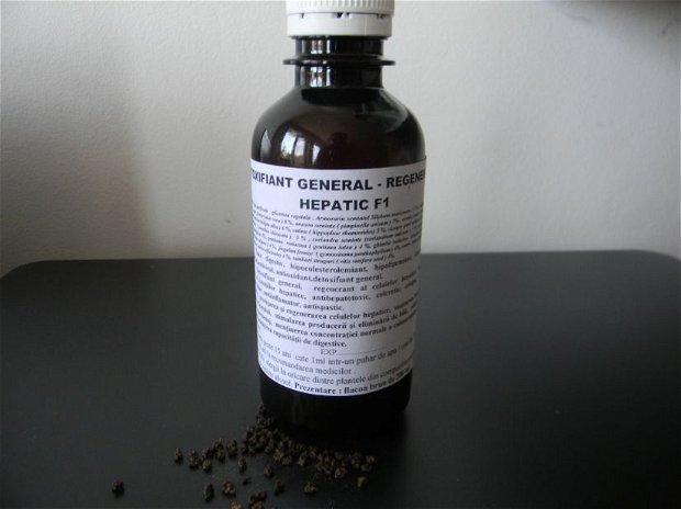 DETOXIFIANT GENERAL - REGENERATOR HEPATIC- NOU