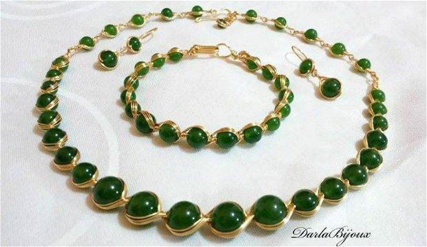 Set jad verde