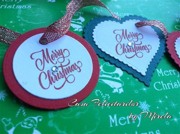 Etichete Merry Christmas