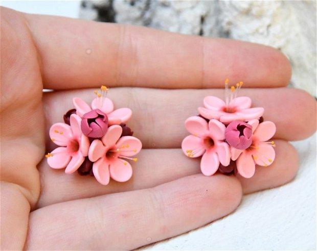 Cercei flori de cires